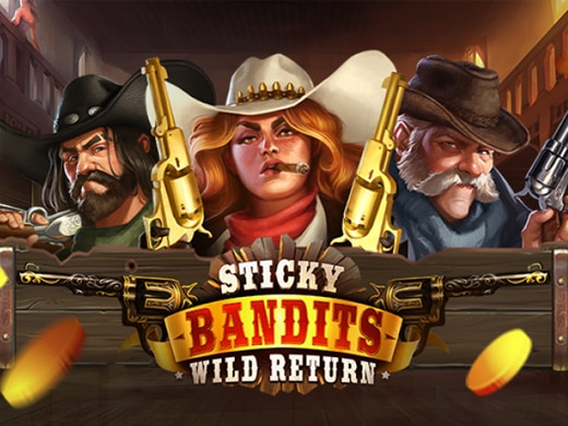 Sticky Bandits Wild Return Logo1