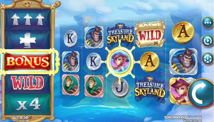Treasure Skyland Gameplay