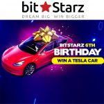 Bitstarz Tesla winnen