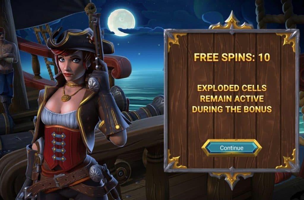 Met de Free Spins Bonus kun je de rollen gratis laten draaien en extra winsten behalen
