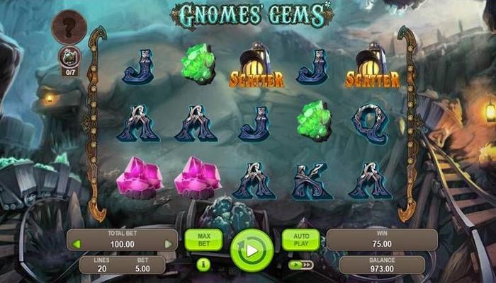 Gnomes' Gems Gameplay