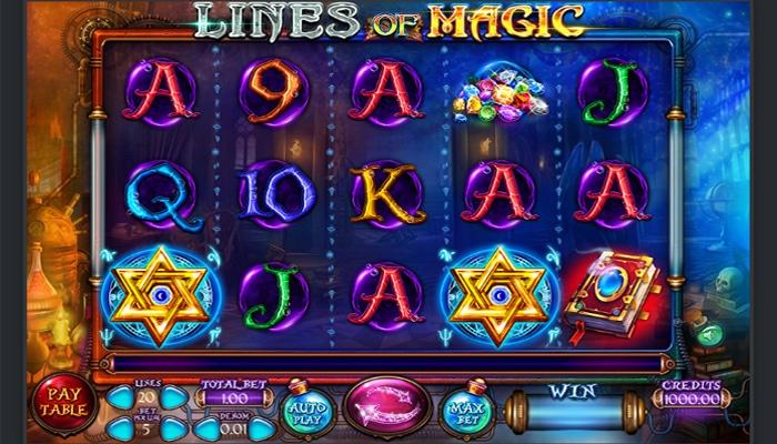 Lines of Magic Gameplay