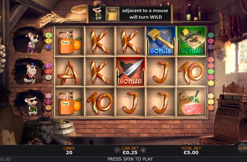 Spelprovider Sunfox Games heeft met Pantry Plunder een spel ontwikkelt met een geweldige gameplay