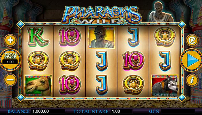 Pharaohs Wild Gameplay