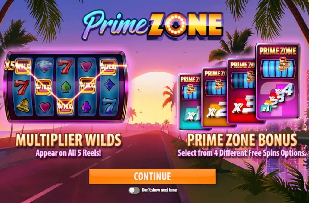 Spelprovider Quickspin heeft diverse bonussen toegevoegd aan gokkast Prime Zone