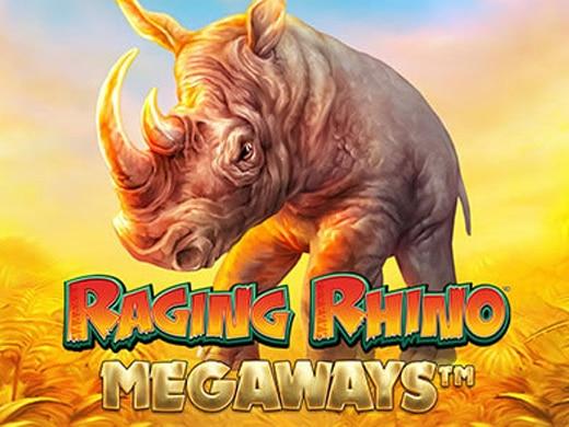Raging Rhino Megaways Logo2