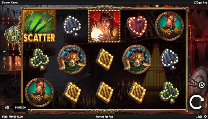 Sinister Circus Gameplay