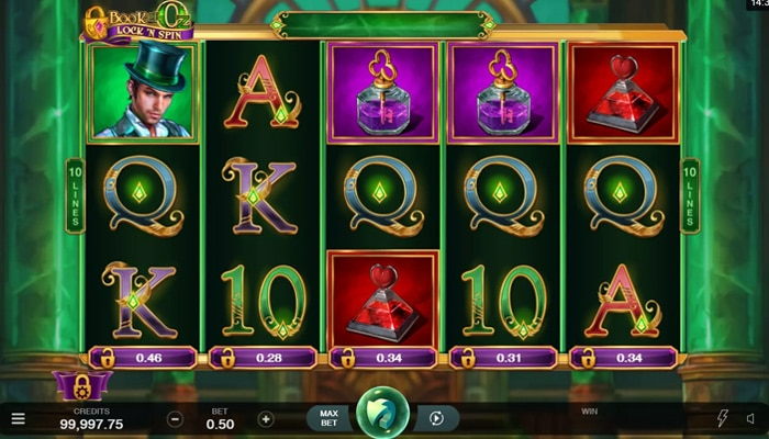 Book of Oz Lock 'N Spin Gameplay