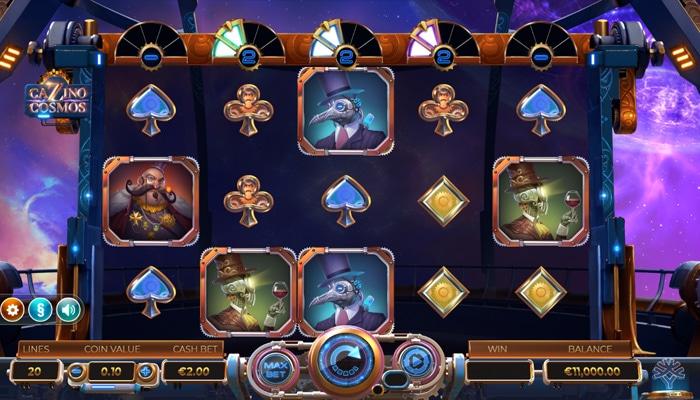 Cazino Cosmos Gameplay