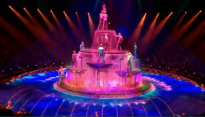 De meest geweldige shows zijn er in Las Vegas te zien