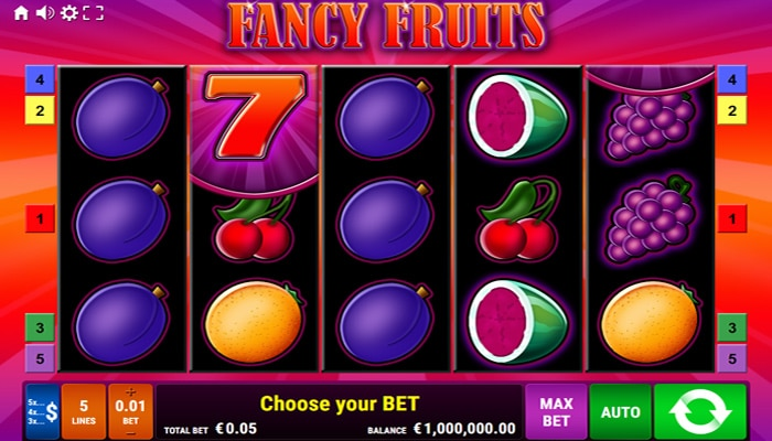Fancy Fruits Gameplay