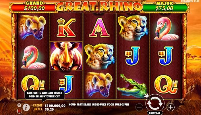 Great Rhino Gameplay