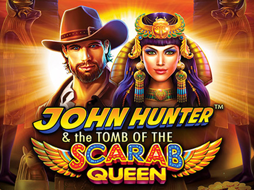 John Hunter & the Tomb of the Scarab Queen Logo2