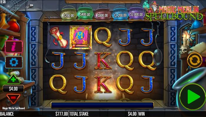 Magic Merlin Spellbound Gameplay