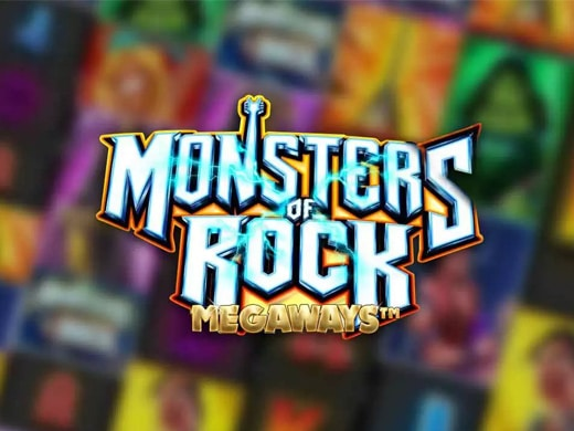 Monsters of Rock Megaways Logo1