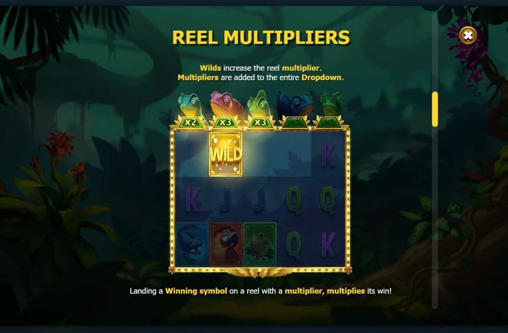 Ook heeft spelprovider Yggdrasil het Wild symbool de functie van vermenigvuldiger gegeven