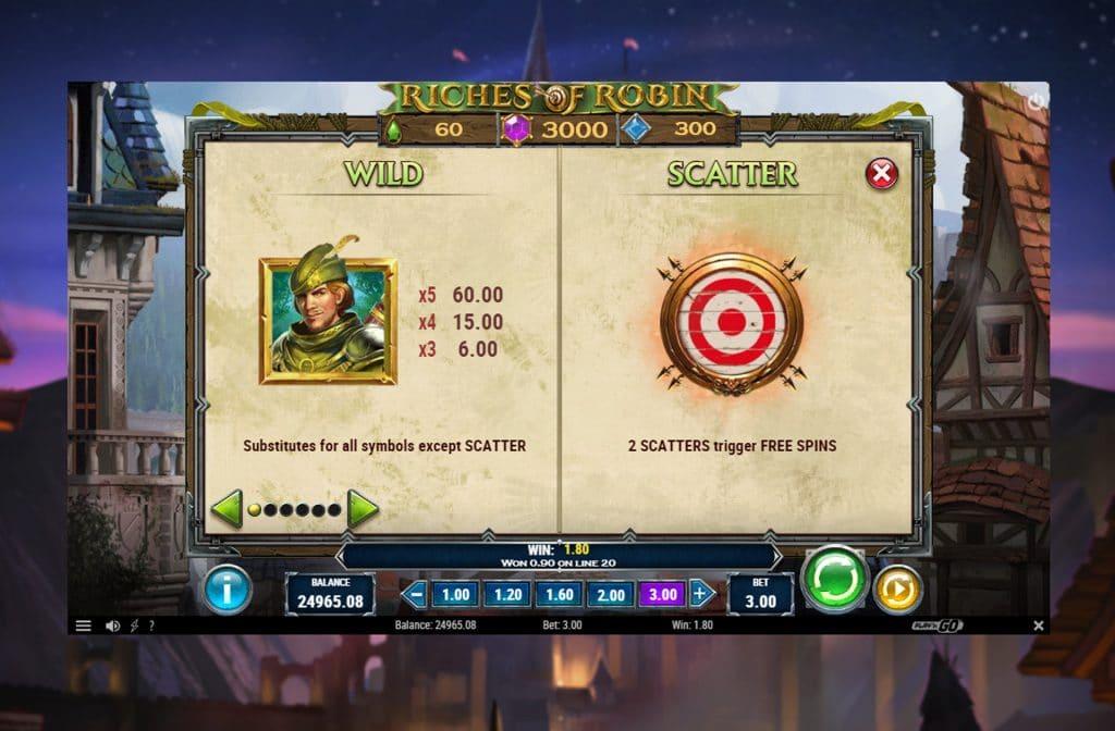 De Wild en Scatter symbolen kunnen de kans op winst duidelijk vergroten