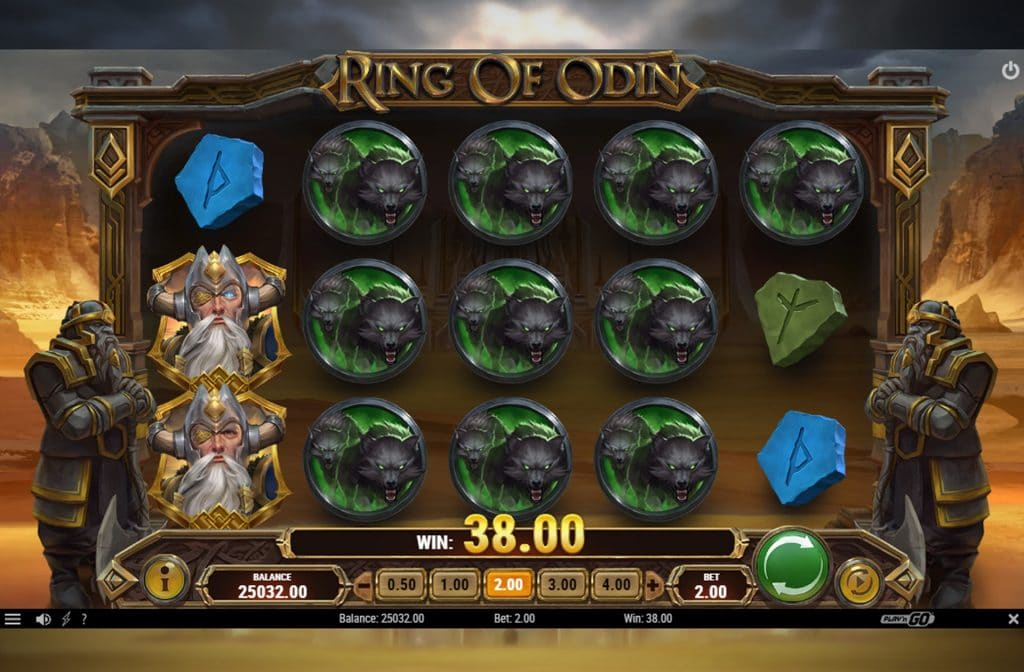 De Ring of Odin gokkast heeft een supermooie gameplay en is dan ook perfect uitgewerkt door spelprovider Play'n GO