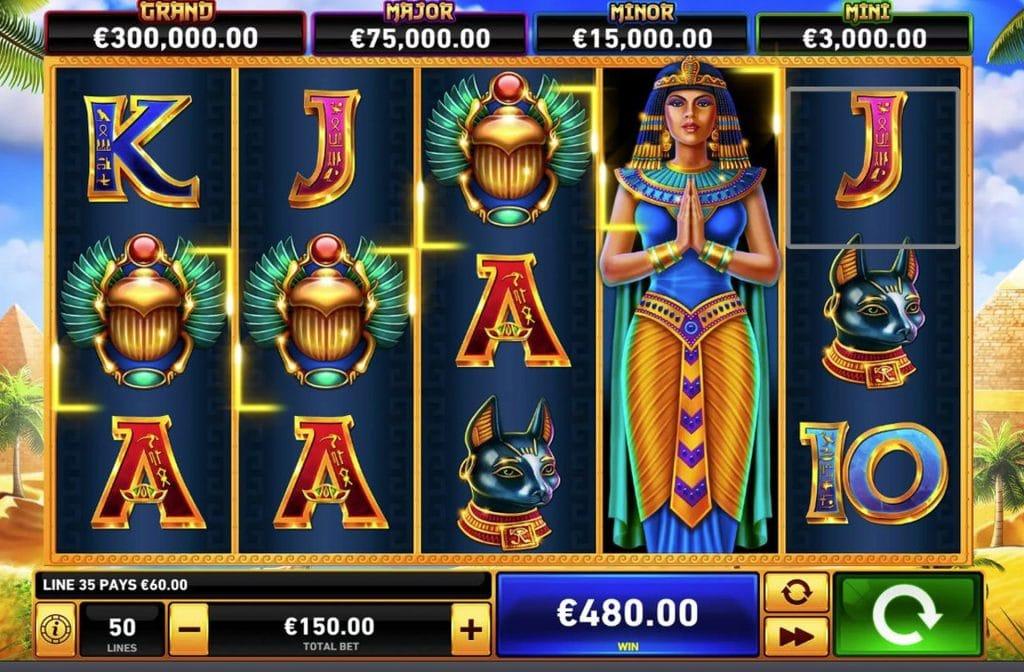 Deze gokkast van spelprovider Playtech kent maar liefst 4 jackpots