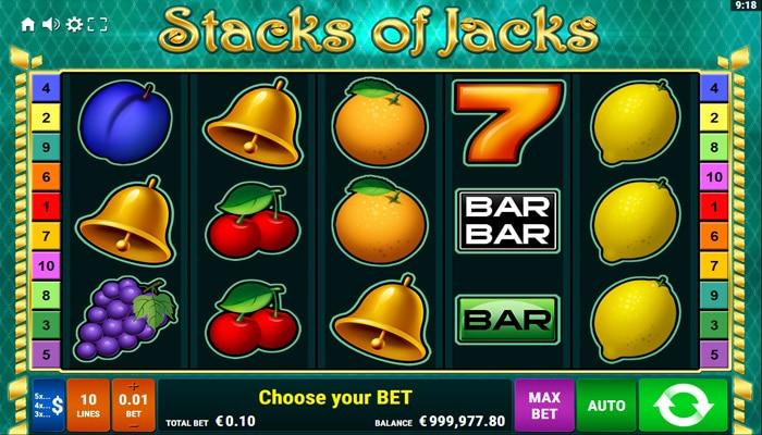 Stacks of Jacks Gameplay