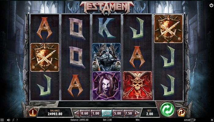 Testament Gameplay