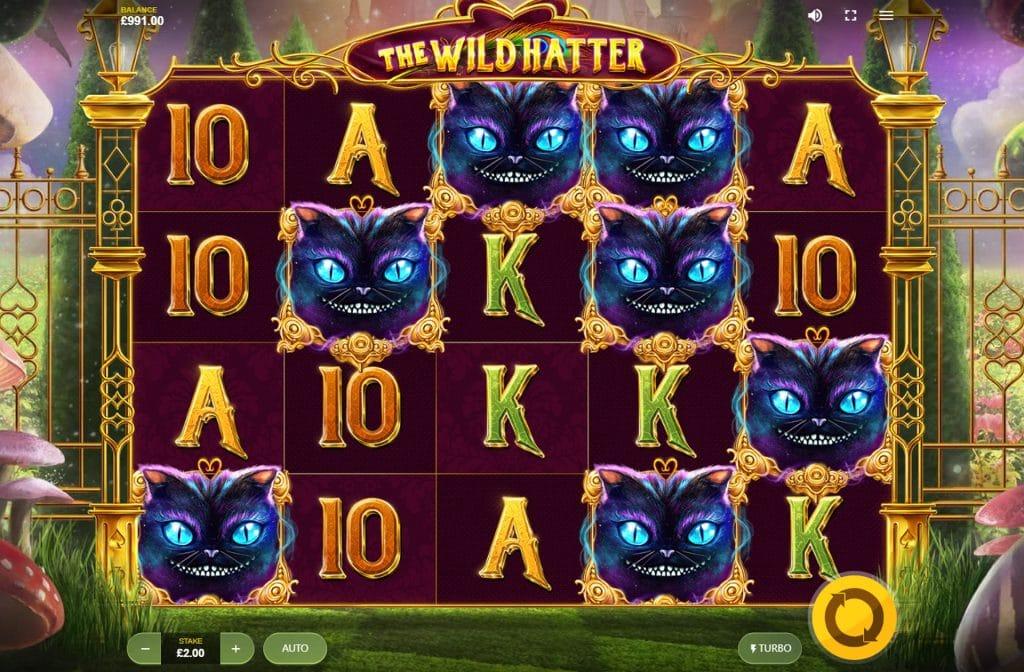 The Wild Hatter gokkast is ontwikkeld door spelprovider Red Tiger