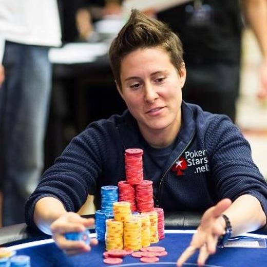 Belangrijke vrouw gokken