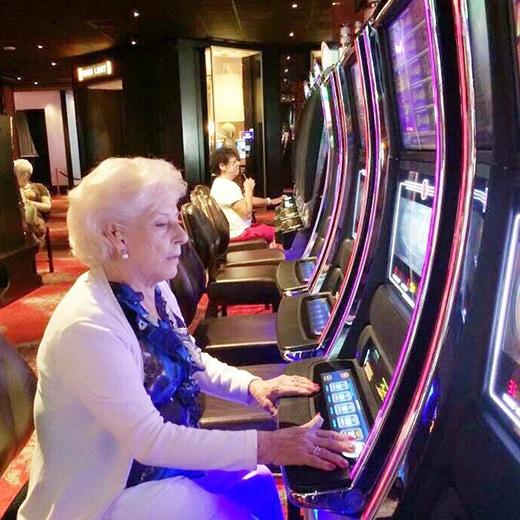 Vrouwen die gokken