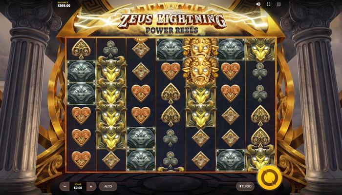 Zeus Lightning Power Reels Gameplay