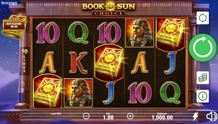 Book of Sun Choice Gameplay
