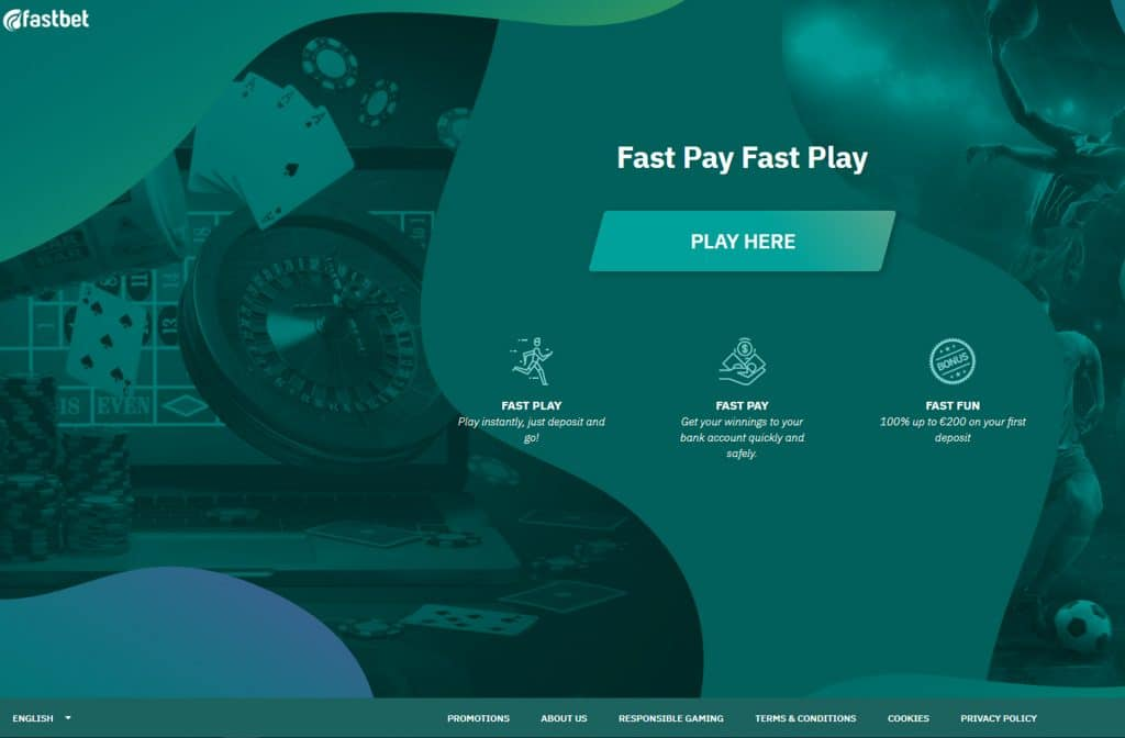 Het Fastbet Casino is een Pay N Play Casino