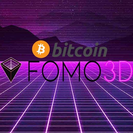 Fomo3D Bitcoin gokken