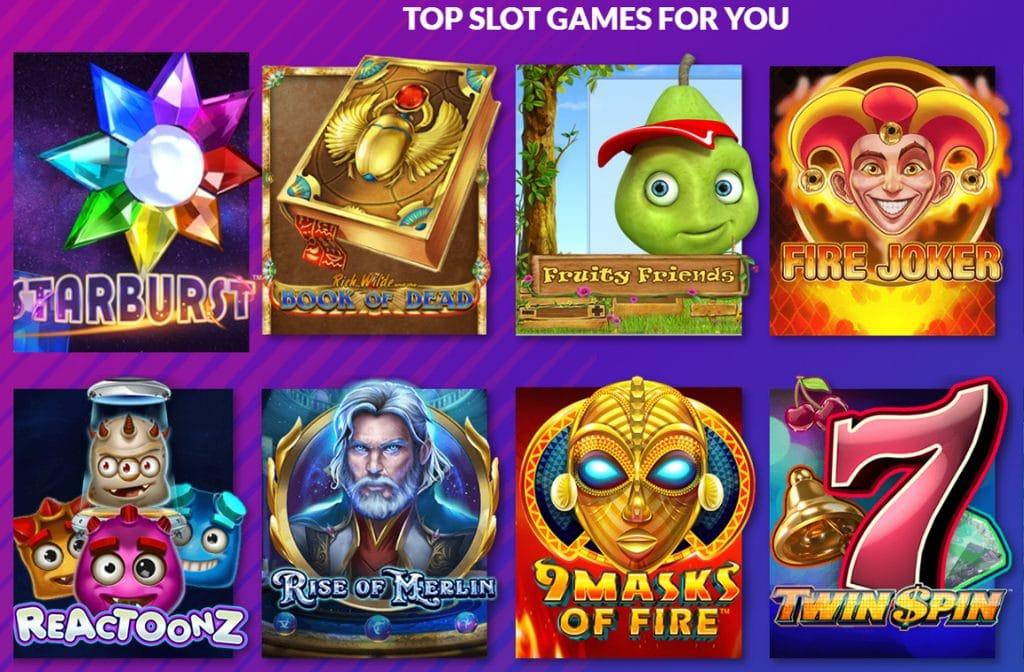 Bij Playluck Casino heb je een ruime keuze uit diverse spellen