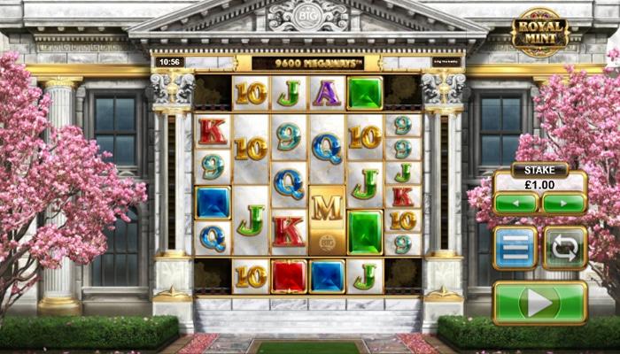 Royal Mint Megaways Gameplay