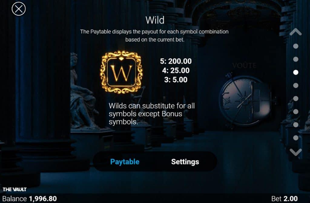 Het Wild symbool herken je aan de gouden letter W en kan voor mooie geldprijzen zorgen