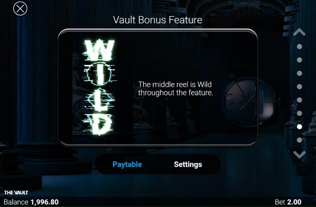 Als je een kijkje gaat nemen in de uitbetalingstabel zie je wat alle extra functies en symbolen waard zijn