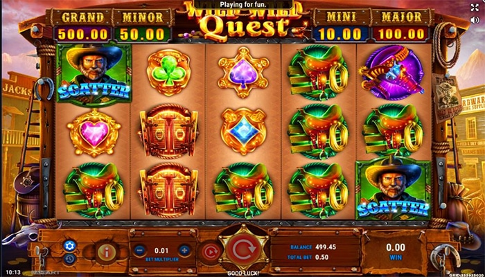 Wild Wild Quest Gameplay