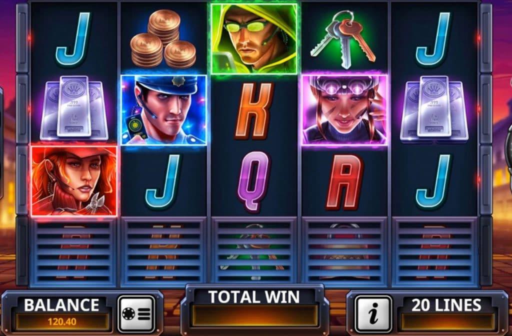 De Even the Score gokkast is ontwikkeld door spelprovider Playtech