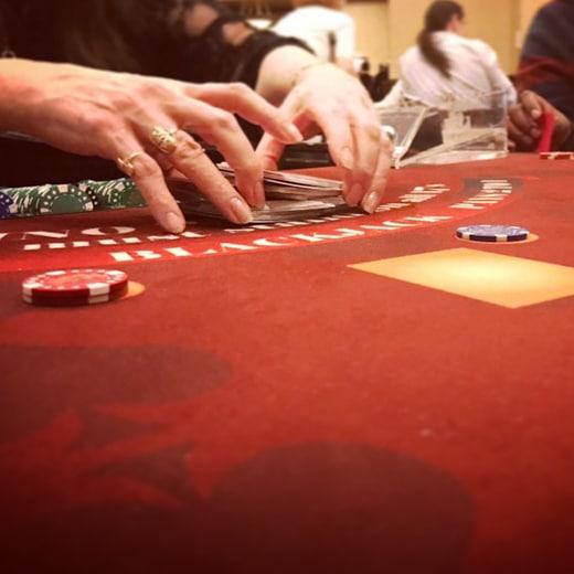 Fouten bij Blackjack 1