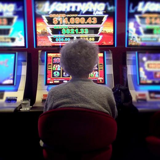 Ouderen en gokken