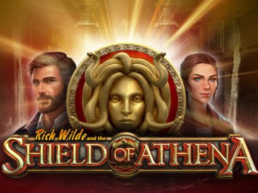 Riche Wilde and the shield of Athena Gokkast1