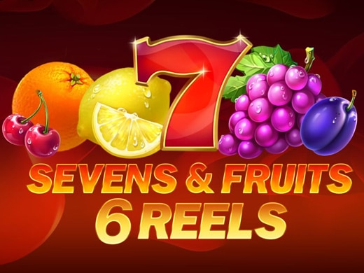 Sevens and Fruits 6 Reels Logo