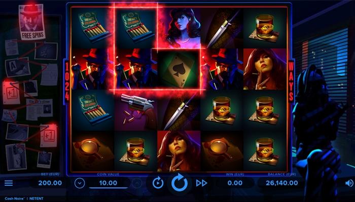 Cash Noire Gameplay