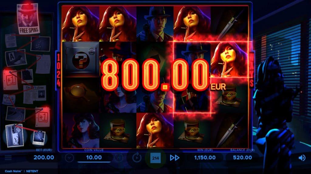 Cash Noire Win