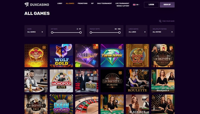 Casino spellen zijn makkelijk te selecteren
