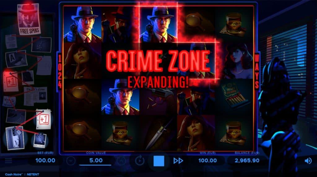 Cash Noire Crime Zone Expanding