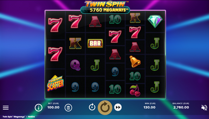 Twin Spin Megaways Gameplay