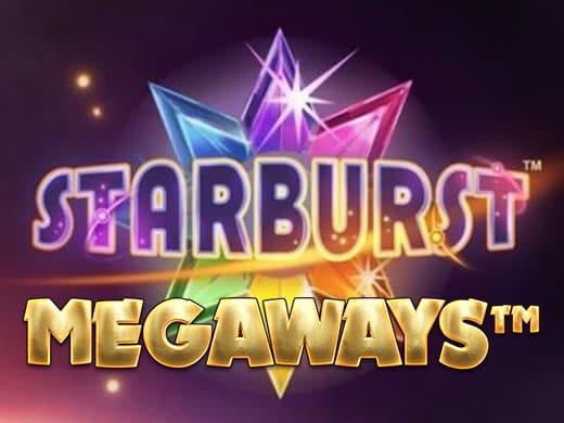 Starburst Megaways logo 1a