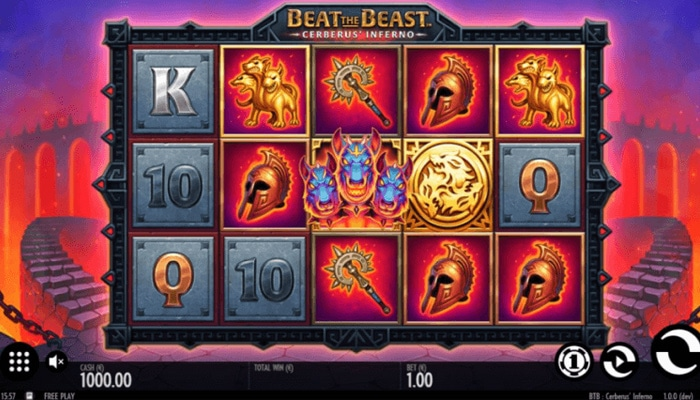 Beat the Beast Cerberus' Inferno Gameplay