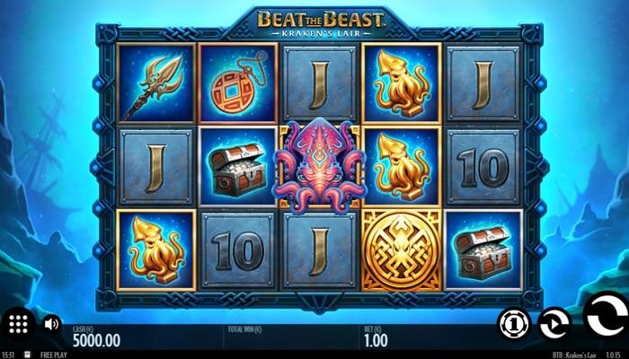 Beat the Beast Kraken's Lair Gameplay